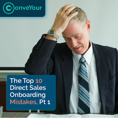 thumbnail of onboarding mistakes with a frustrated sales manager who realized he made an onboarding mistake