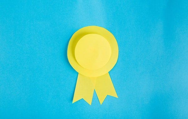 Gold ribbon incentives for sales reps