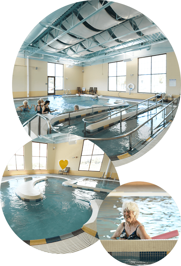 Collage of Swimming Pool