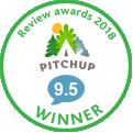 Pitchup company logo.