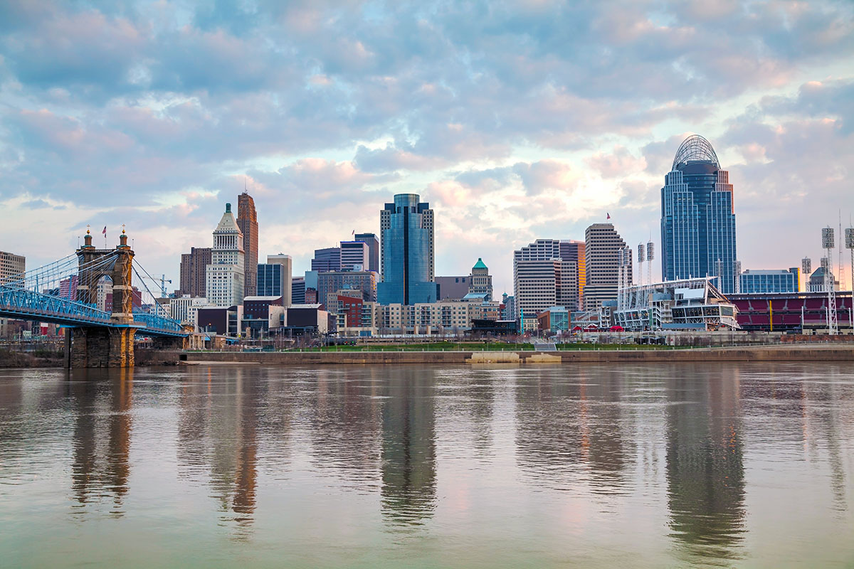 a picture of the Ohio Skyline