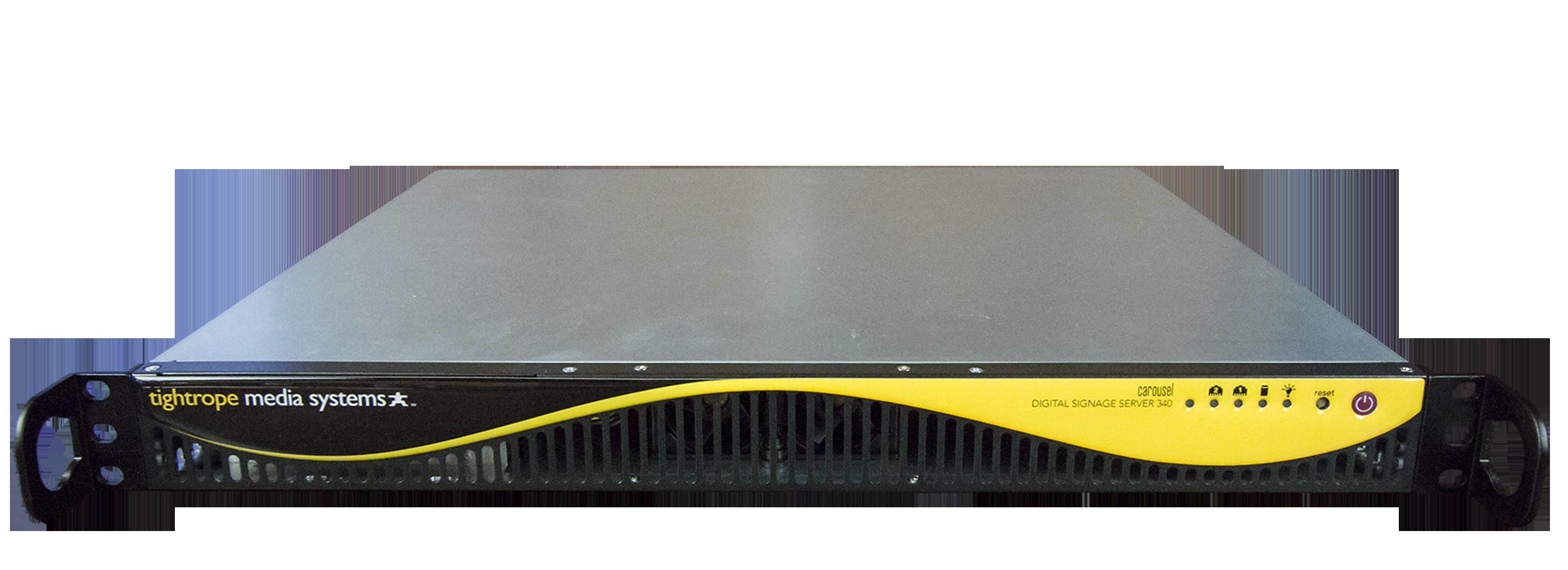 Cablecast CG340 - Server