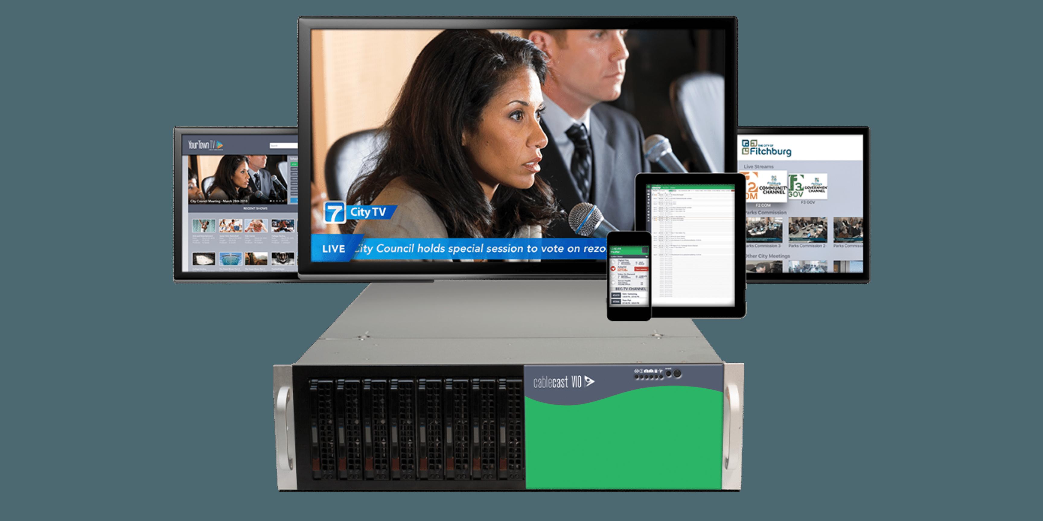 Next Level Versatility & Cost Savings with New VIO Video Servers