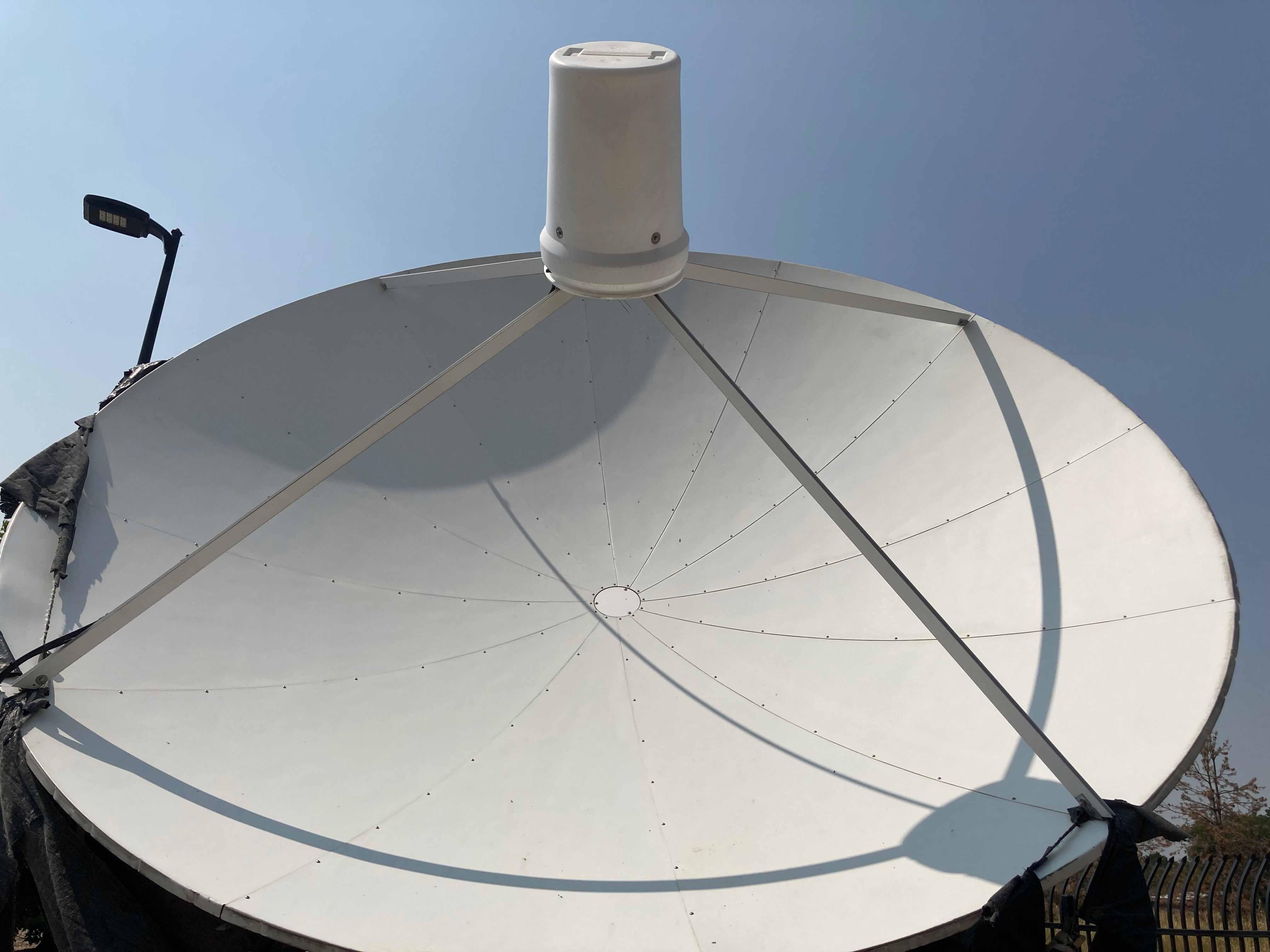 AuroraTV's old c-band satellite dish