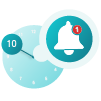 Instruction icon for reminders on RxLocal app