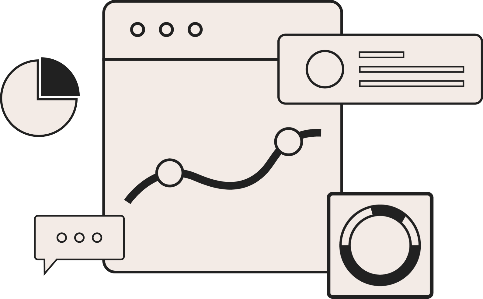 Illustration of VividCharts infrastructure.