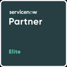 ServiceNow Elite Partner badge.