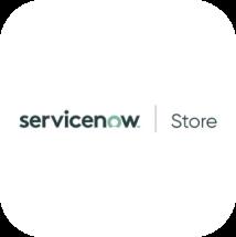 ServiceNow Store badge.