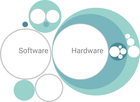 Abstract illustration of ITBM VividPacks dashboard.
