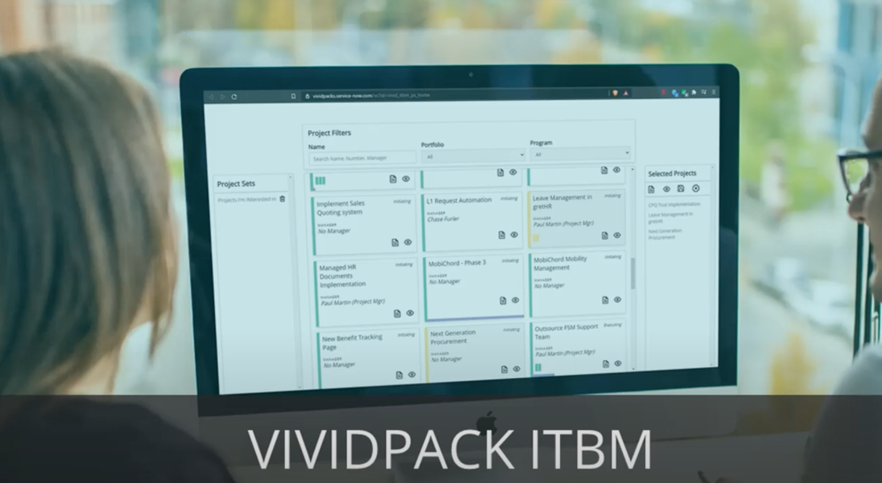 VividCharts for ITBM: A beautiful status reporting experience.