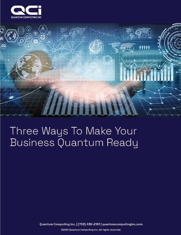 Three Ways to make your business quantum ready.