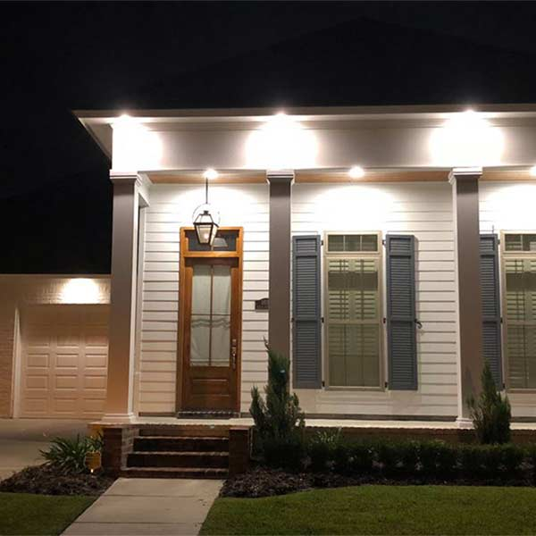 Home lighting installed by GSE Integrated in Baton Rouge