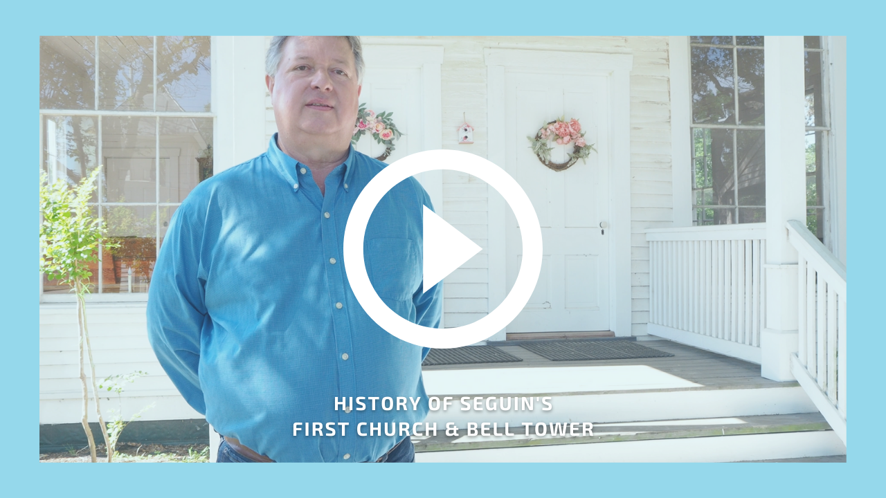 Video preview image for Seguin's First Church and Bell Tower property video.