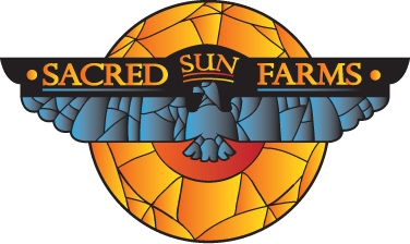 Sacred Sun Farms Logo.