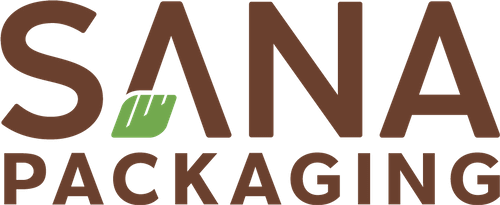 Sana packaging logo.