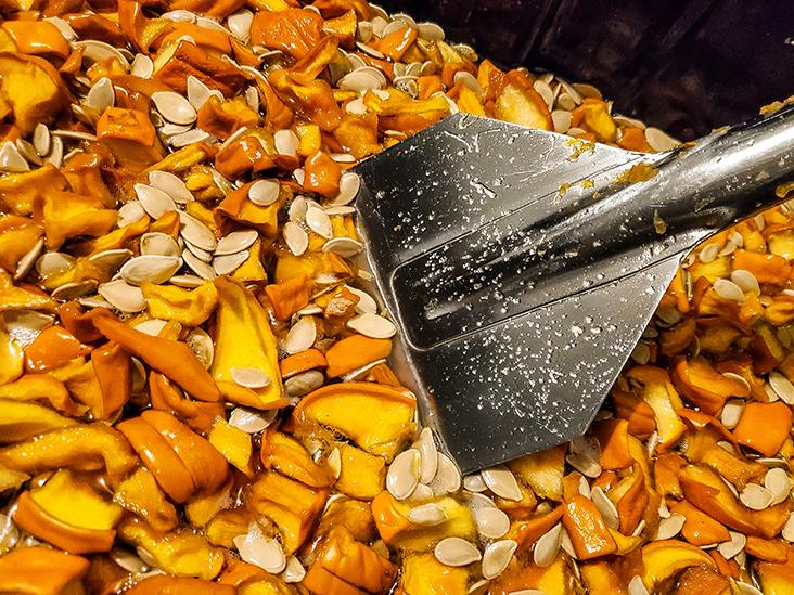 Pumpkin ferment for Korean Natural Farming.