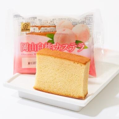 Okayama White Peach Castella