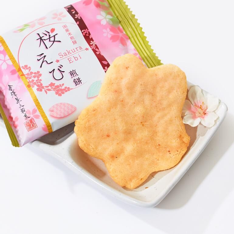 Sakura Shrimp Senbei