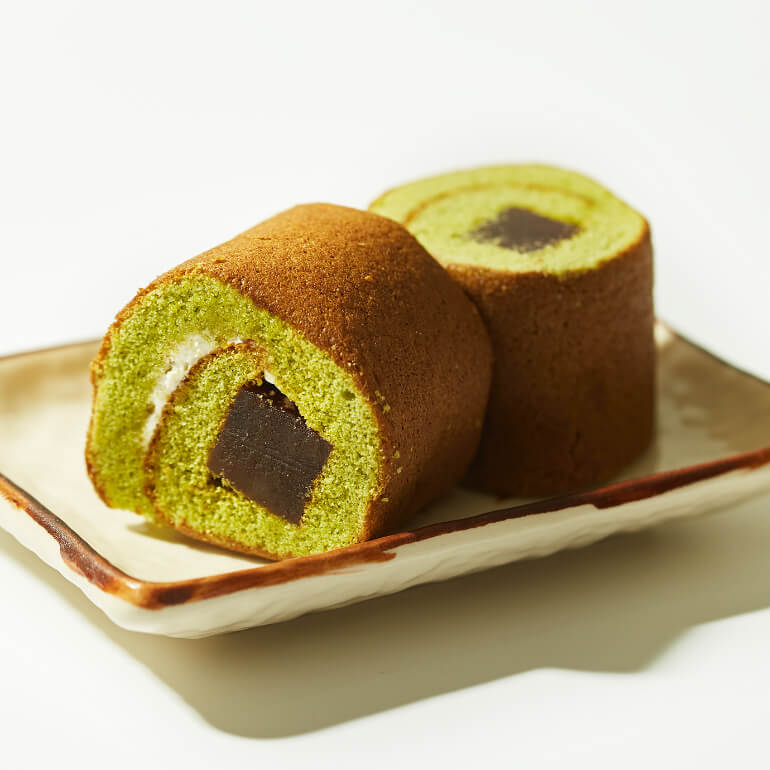 Matcha Yokan Roll Cake x2