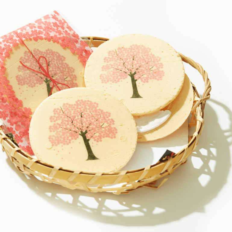 Sakura Cream Sandwich x2