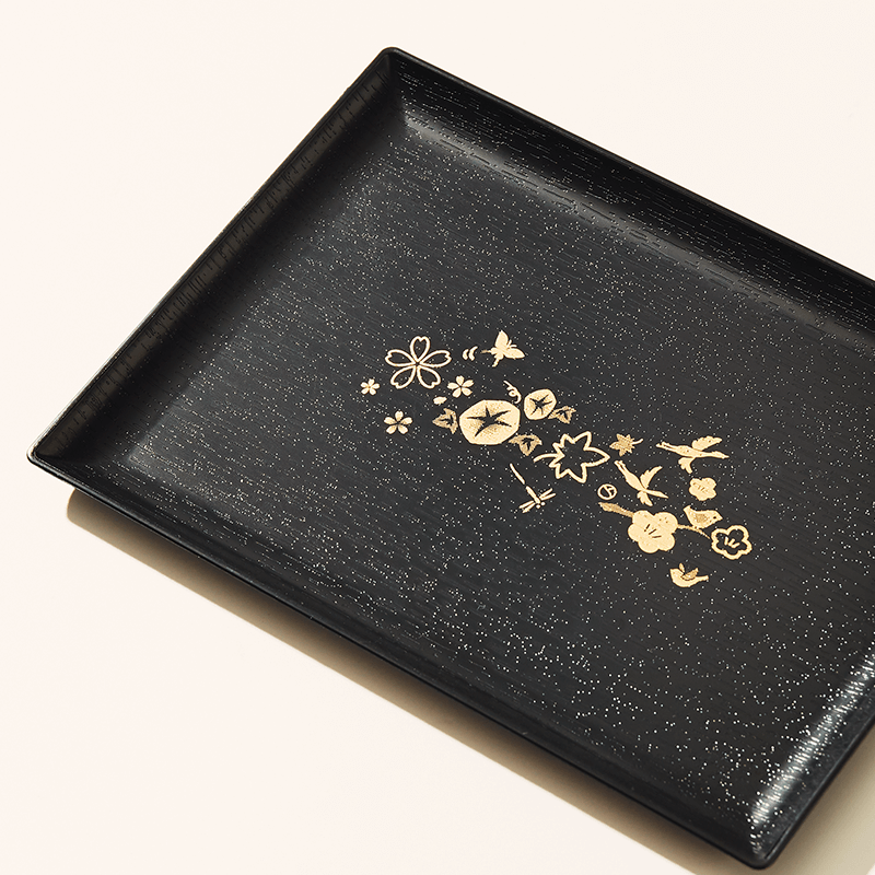 Japan's Four Seasons Serving Tray