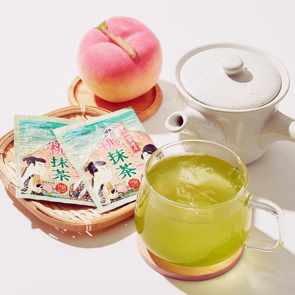 Peach Matcha Tea x 2