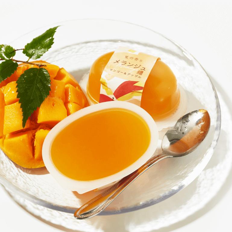Apple and Mango Melange Jelly