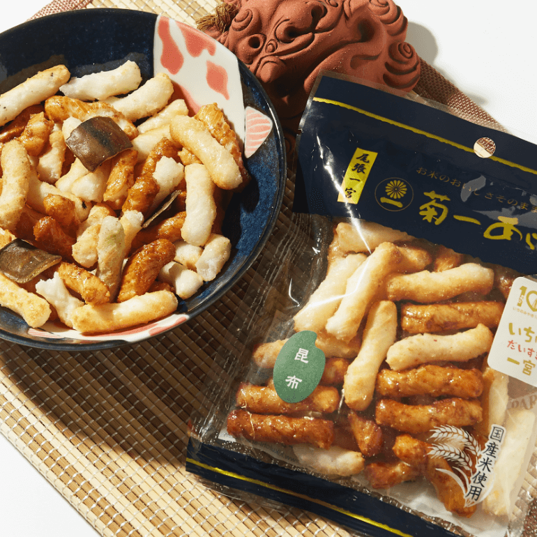 Kombu Arare Crackers