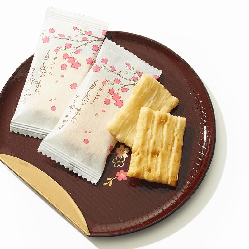 Almond Mochi Four Seasons Senbei x 2