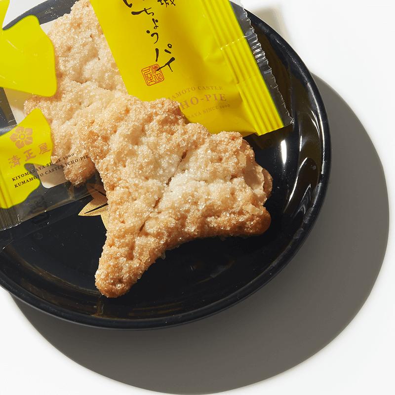 Kumamoto Castle Ginkgo Pie