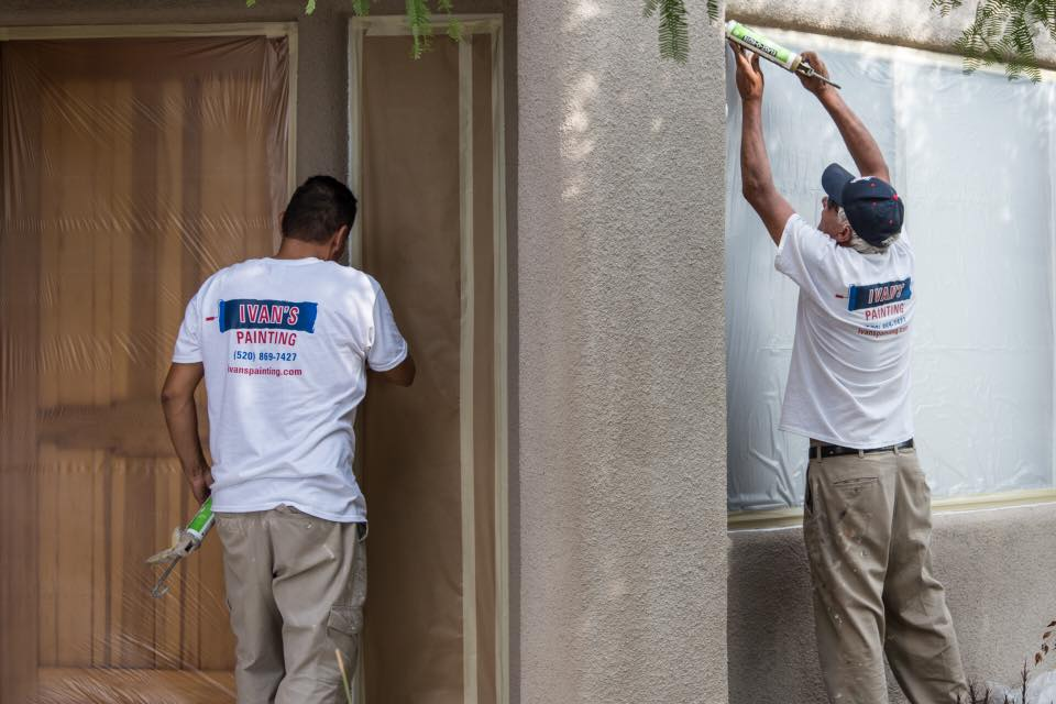 Ivans Painting Exterior Home