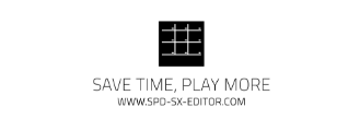 SAVE TIME, PLAY MORE logo