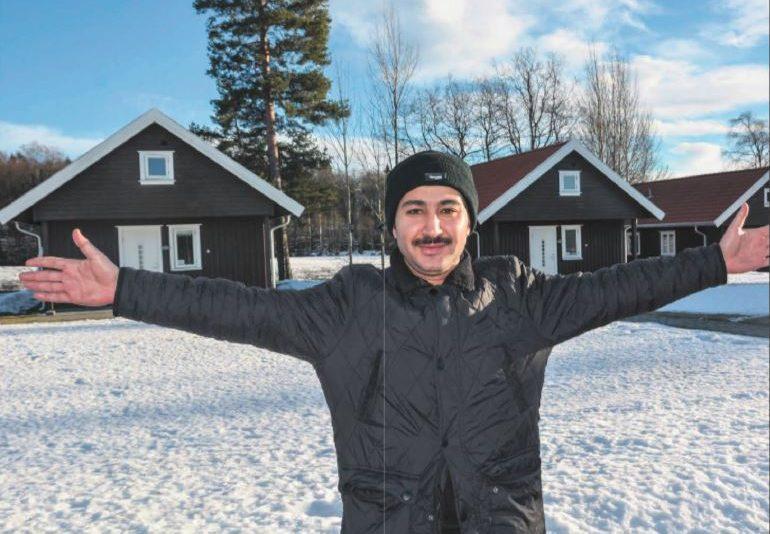 Flyktninger på Dal Gård