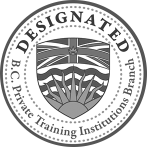 BC Designated Private Training Institution Branch seal