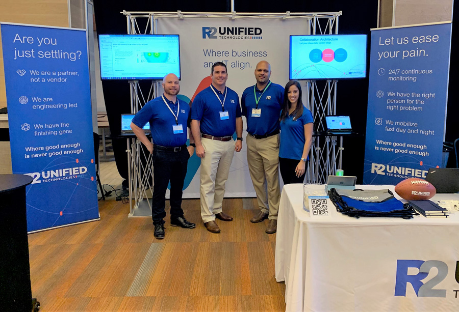 R2's booth at Cisco Connect 2019