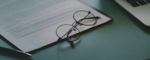 glasses and contract