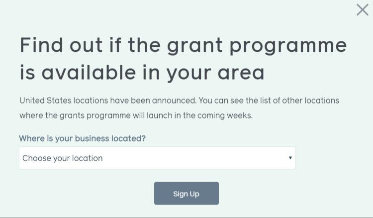 Facebook grants in your area