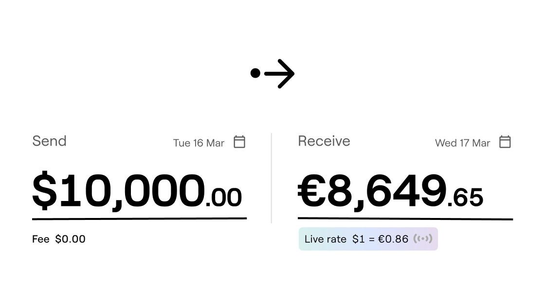 An image of a business payment transaction by rebank - single source of truth for your startup's finances