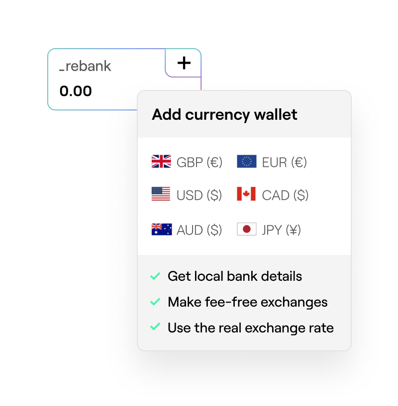 Add currency wallet