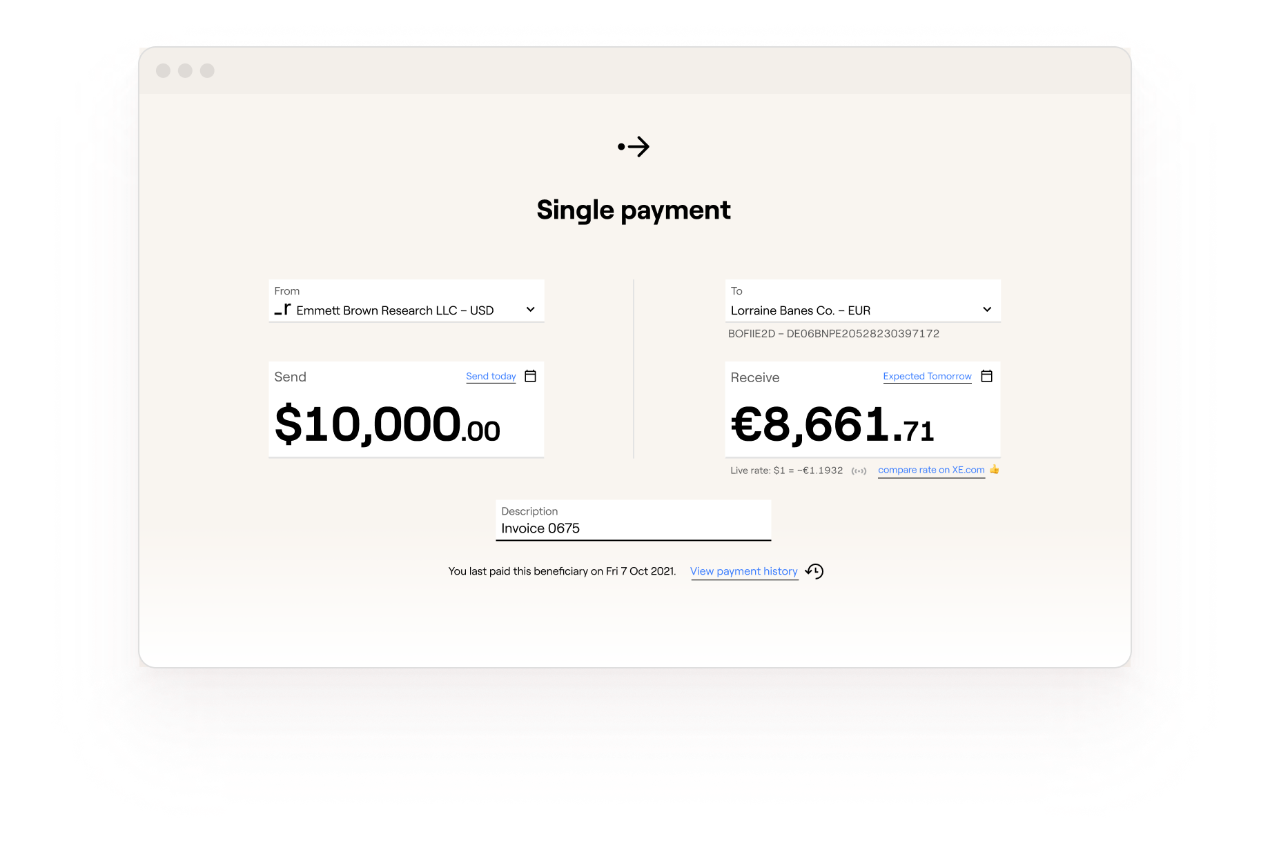 Make payments in one place