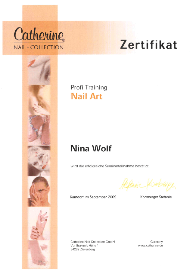 Catherine Nail Collection: Profi Training Nail Art