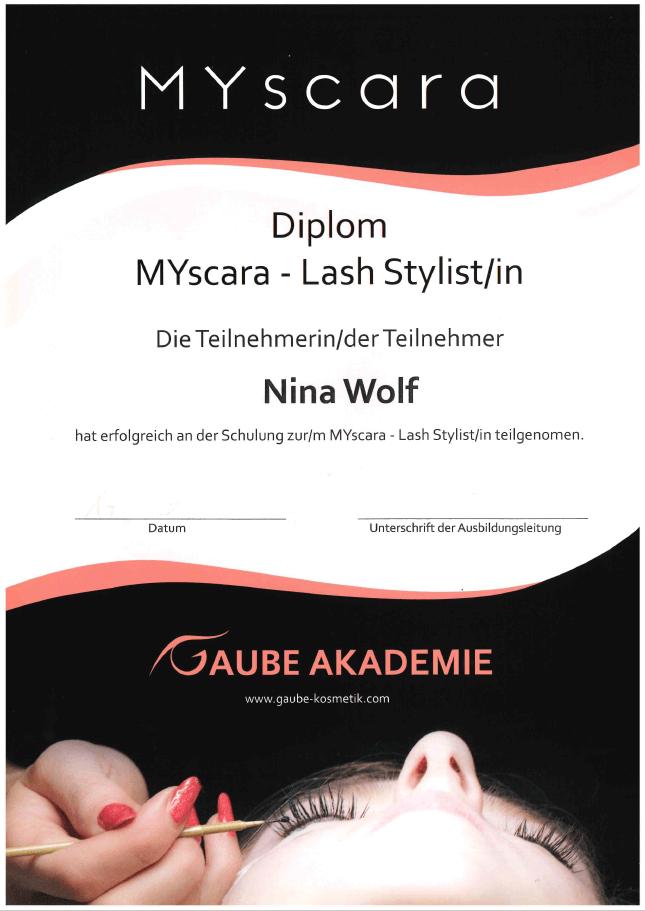 Gaube Akademie: MYscara