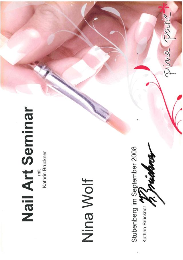 Pina Parie: Nail Art Seminar