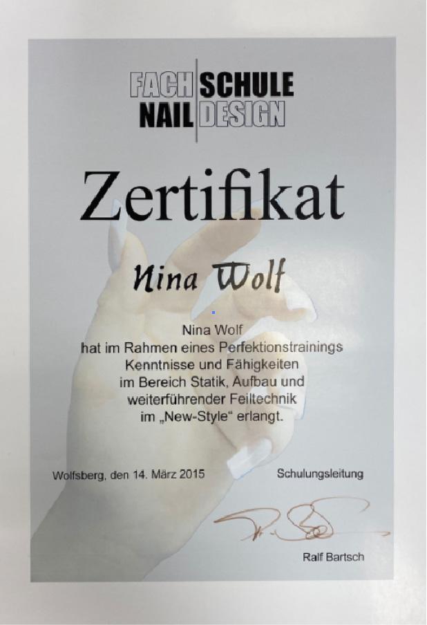 Fachschule Nail Design Ralf Bartsch: New Style