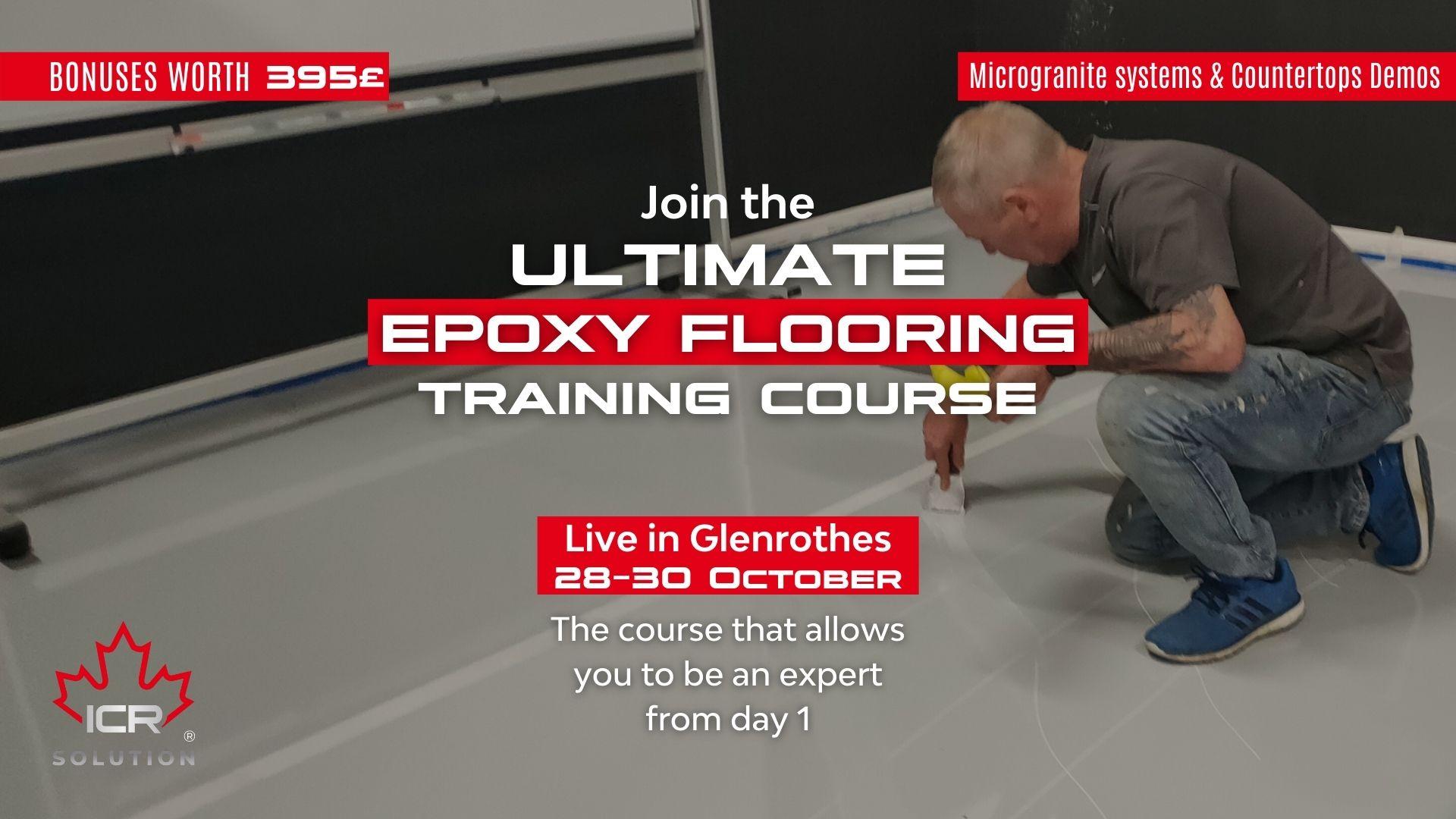 Ultimate Epoxy Flooring Training Course