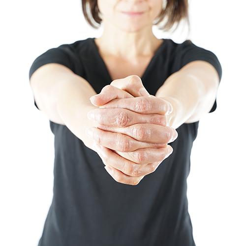 Rotation der Hände