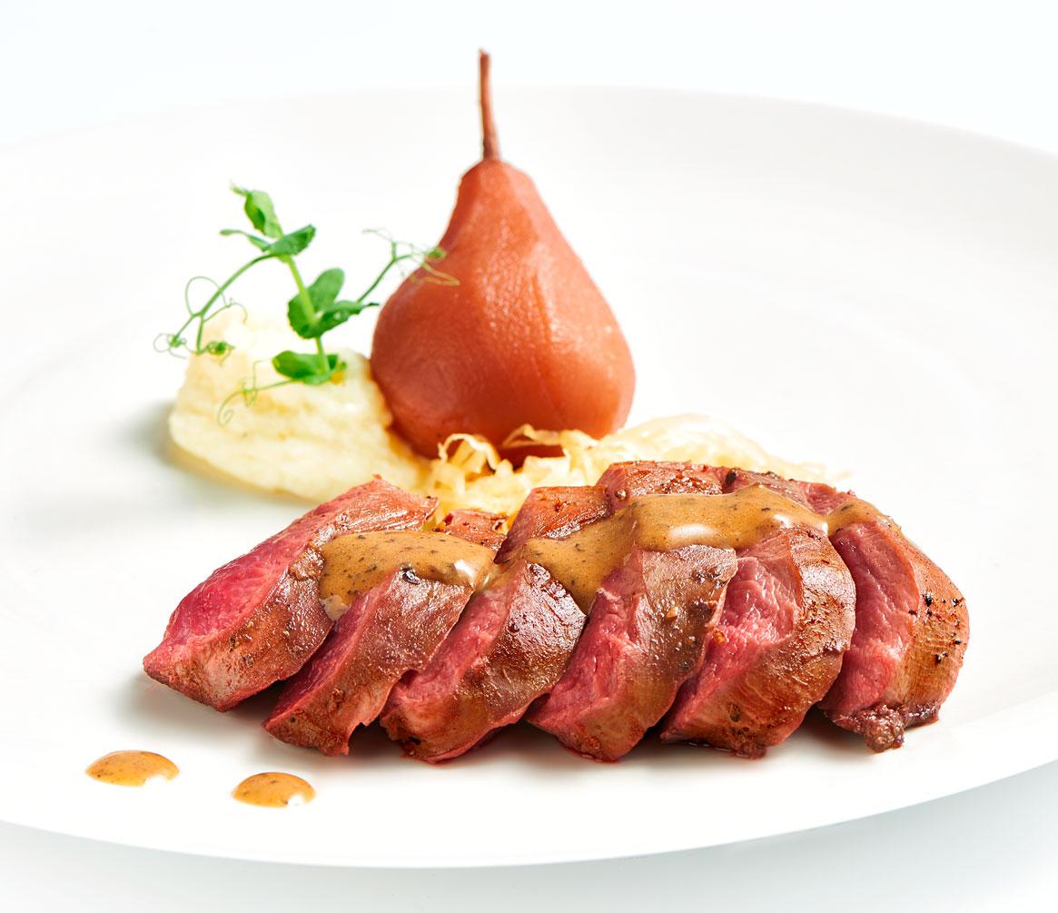 Prepared goose meat