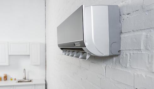 Instalforyou klimatizacija. Klima na zidu u kuhinji