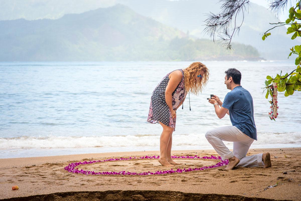 Bali Hai Surprise Proposal Kauai