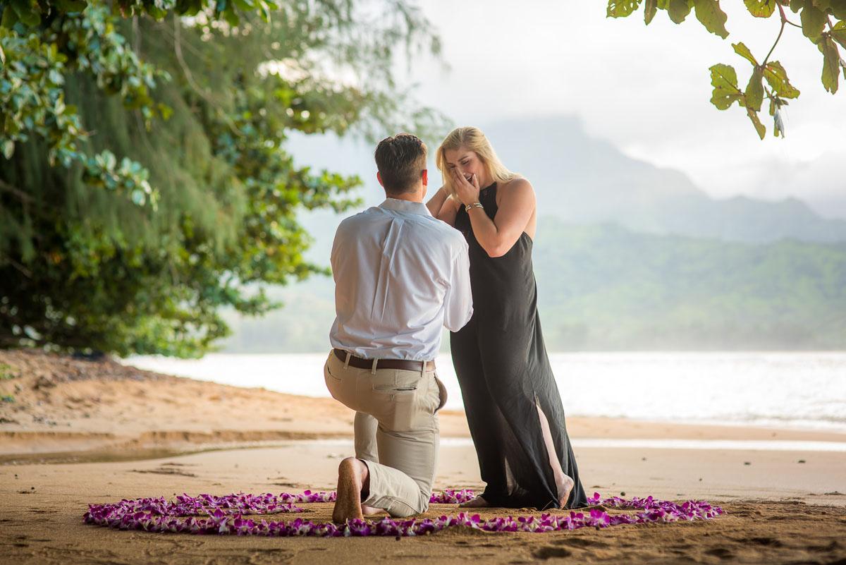 Surprise Proposal St. Regis Kauai